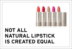 Natural Lipsticks: Whatever we put on our lips is not only absorbed, but often ingested as well which increases the impact of toxins. Natural Lipstick, Lip Colors, Colours, Everything Is Awesome, Your Lips, Lipsticks, Heavy Metal, Equality, Things To Come
