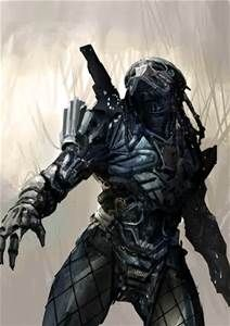 the art of simon robert: Predator design sketches Alien Vs Predator, Predator Alien, Predator Movie, Predator Cosplay, Predator Costume, Predator Series, Apex Predator, Arte Ninja, Aliens Movie