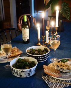 """701 tykkäystä, 1 kommenttia - Keltainen kahvipannu (@vintageinteriorxx) Instagramissa: """"Dinner at home 🍷❤️…"""""""