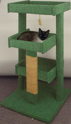 19-w3338 - Cat Tree Woodworking Plan - Woodworkersworkshop® Online Store