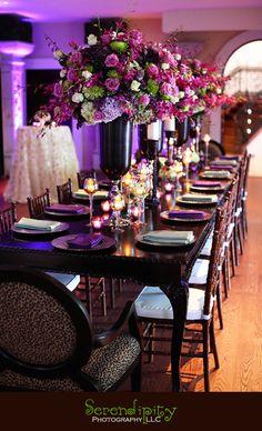 ideas decoración boda violeta, morado, lila Índigo Bodas y Eventos #DecoraciónBoda #BodaVioleta