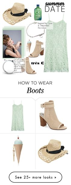 """Beautiful Jewelry!"" by sabinakopic on Polyvore featuring Rochas, Sam Edelman, Calvin Klein, Betsey Johnson and trescjewelry"
