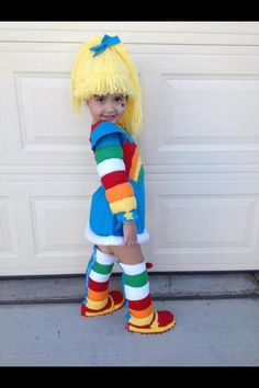 Rainbow Brite by Nevaehsbabycouture on Etsy, $250.00