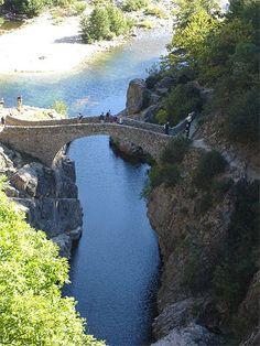 Ardèche-Drôme > Ardèche > Cévenne ardéchoise et haute vallée de l'Ardèche > Thueyts > Ponts du diable
