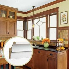 crown molding for Arts and Crafts style homes