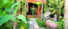 Golden Temple Villa, place to stay in Siem Reap - Cambodia Golden Temple, Outdoor Spaces, Outdoor Decor, Siem Reap, Angkor, Cambodia, In This World, Garden Sculpture, Villa