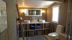 Cabin, Bad, Mirror, Bathroom, Inspiration, Furniture, Home Decor, Bob Hairstyles, Bath