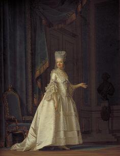 The Queen Dowager Juliane Marie, 1776, Denmark, by Vigilius Eriksen (1722–1782) - Google Search