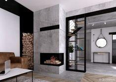 Krajewski, Fireplace, H+ architecturearchitecture #fireplace #krajewski