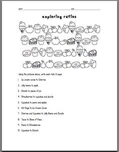 I teach ratios to my 6th graders and always review with my 7th and 8th graders. One of my favorite (and the kids' favorites) activities is Fruit Loops Ratios. As I was preparing for introducing rat...