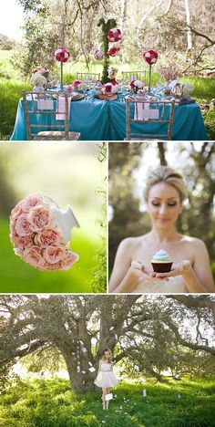 Whimsical Alice in Wonderland themed Photo Shoot | Style Me Pretty  Oh my! Lauren!! It's you!! :)