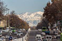 Ташкент. Вид с площади Чорсу