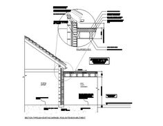Smart flat roofs the craft of parapet detailing flat roof flat roof dormer cad detail the best orange sciox Images