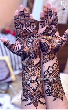 Khafif Mehndi Design, Floral Henna Designs, Mehndi Designs Book, Mehndi Designs 2018, Modern Mehndi Designs, Mehndi Designs For Girls, Mehndi Design Photos, Beautiful Henna Designs, Mehandi Designs New