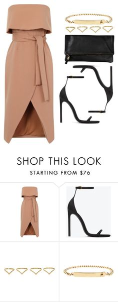 """Style #11708"" by vany-alvarado ❤ liked on Polyvore featuring Yves Saint Laurent, Clare V., Ana Khouri and A.P.C."