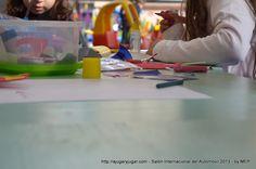 Más dibujo y pintura, espacio de expresión. #SalonAutoBA