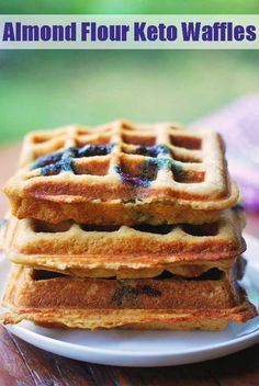 An Easy Gluten Free Waffle Recipe With A Dairy Free And . Light 'N Fluffy Keto Waffles Gnom Gnom. Easy Keto And Paleo Waffles The Movement Menu. Low Carb Waffles, Healthy Waffles, Gluten Free Waffles, Keto Pancakes, Blueberry Pancakes, Grain Free Waffle Recipe, Keto Waffle, Waffle Recipes, Gourmet Recipes