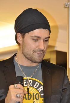 always love him wearing this beanie !!