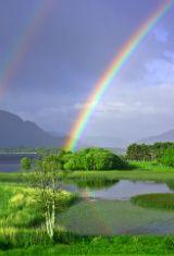 Double rainbow, Ireland