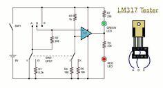 Circuito Testador de LM317