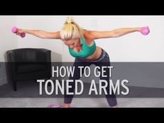 Here& a quick and intense arm workout by fitness trainer, Rebecca-Louise to help you get toned arms. Lose arm fat and build muscle today by doing this toning workout. Fitness Workouts, Fitness Workout For Women, Butt Workout, Fitness Diet, Fun Workouts, At Home Workouts, Health Fitness, Body Workouts, Workout Routines