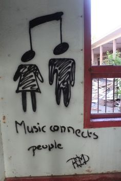 Muziek verbind mensen!