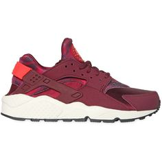 NIKE Air Huarache Run Neoprene Sneakers - Purple ($140) ❤ liked on Polyvore featuring shoes, sneakers, nike, huaraches, print shoes, purple sneakers, camo shoes, patterned shoes and neoprene shoes