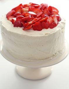Rachel Khoo's simple spiced strawberry cake