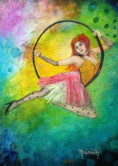 Haunted Circus, Paintings, Art, Art Background, Paint, Painting Art, Kunst, Performing Arts, Painting