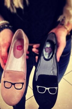 Loving these geek chic loafers available at Nordstrom.com item #625427 {image via Nordstrom on instagram}