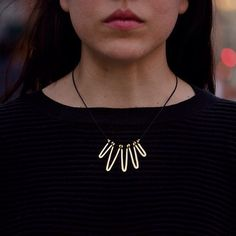 Embrace today's mist with the Petunia 19k Necklace