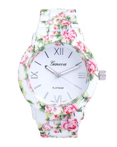 floral garden party watch