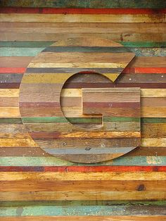 Letter G: An enchanting bit of Gotham seen en route to ATypI Mexico: timbered lettering, on the storefront for Guru, a gallery & design emporium in Cuauhtémoc owned by graphic designer Quique Ollervides. Visual Design, Art Design, Graphic Design, Wood Design, Interior Design, Art Texture, Wood Texture, Design Graphique, Typography Letters