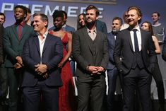 Actors Josh Brolin, Chris Hemsworth, Tom Hiddleston and cast & crew of 'Avengers: Infinity War' attend the Los Angeles Global Premiere for Marvel Studios' Avengers: Infinity War on April 23, 2018 in Hollywood, California. - 99 of 635