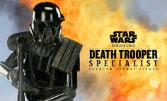 Sideshow Exclusive Star Wars Rogue One Death Trooper Specialist Revealed
