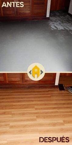 El cliente solicitó una 𝐫𝐞𝐧𝐨𝐯𝐚𝐜𝐢𝐨́𝐧 de forma 𝐫𝐚́𝐩𝐢𝐝𝐚 y con la premisa de no romper el piso preexistente.  Eligió uno de nuestros productos de 𝐏𝐢𝐬𝐨 𝐅𝐥𝐨𝐭𝐚𝐧𝐭𝐞 𝐕𝐢𝐧𝐢́𝐥𝐢𝐜𝐨 en 2mm de espesor, producto que se adhiere con doble contacto, y no tiene olor. Contrató, además, nuestro servicio de 𝐦𝐚𝐧𝐨 𝐝𝐞 𝐨𝐛𝐫𝐚 , para realizar un trabajo profesional, completo, rápido y eficiente. Nivelamos la superficie. Aplicamos el piso flotante vinílico con… Industrial, Kitchen, Shape, Floating Floor, Adhesive, Flats, Products, Cuisine, Home Kitchens
