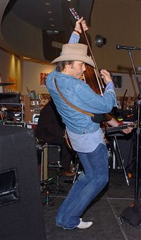 Dwight Yoakam during Dwight Yoakam In-Store Performance at the Lincoln Center Tower Records - June 20, 2005 at The Lincoln Center Tower Records in New York City, New York, United States (2)