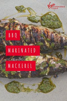 BBQ Marinated Mackerel recipe: Click through to learn how to BBQ your mackerel to perfection in this Moroccan Chermoula inspired recipe.
