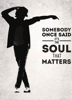 Michael Jackson is right Art Print