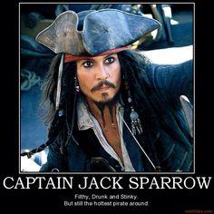 Captain Jack Sparrow... Pirates!