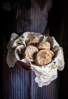 Muffins ingleses o English muffins | Recetas con fotos paso a paso El invitado de invierno.