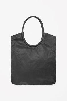 COS | Leather shopper