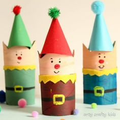 Are you looking for a fun Christmas craft this season? Check out this list of 13 Easy Elf Crafts For Kids that are sure to bring a smile to Santa's face. Christmas Decorations For Kids, Christmas Crafts For Kids To Make, Easy Crafts For Kids, Christmas Elf, Crafts To Do, Simple Christmas, Holiday Crafts, Homemade Christmas, Christmas Paper