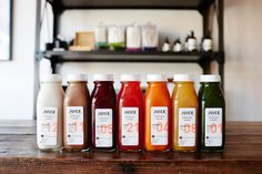 Juice Served Here- great juice package design that is unique compared to other juice brands.
