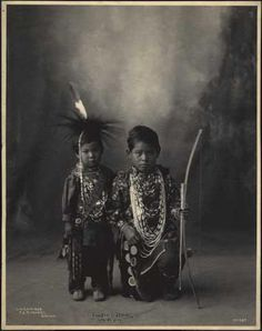 Two Little Braves (Sac & Fox) 1898
