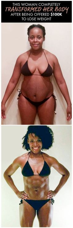 One Woman's Body Transformation Was Insane After Being Offered $100K to Lose Weight. Get the details on her 27 pound weight loss and her gorgeous sculpted, lean bod. Womanista.com