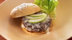 Fondue Burger - via Wisconsin Beef Council #WI #Beef