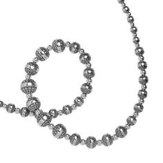 Carolyn Pollack Jewelry | Southwestern Sterling Graduated Native Pearl Necklace