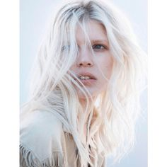 Ola Rudnicka In 'Second Skin' By Jan Welters For Vogue Netherlands May... ❤ liked on Polyvore featuring backgrounds and photos