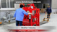 is a small semi-automatic concrete block making machine, low investment get high profits shaping cycle is as short as for size It can . Concrete Blocks, Making Machine, Science And Technology, Cool Things To Buy, Brick, Industrial, Cool Stuff, Youtube, Cool Stuff To Buy